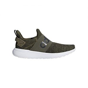 adidas Men's Lite Racer Adapt Running Shoe, Dark Cargo/Dark Cargo/Carbon