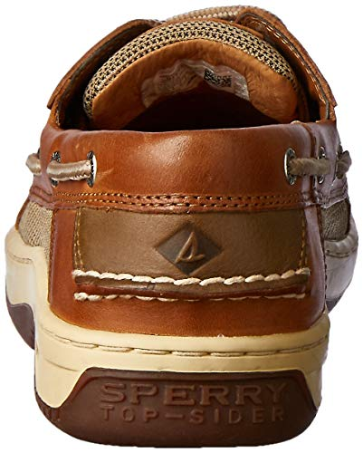 Sperry Mens Billfish 3-Eye Boat Shoe, Dark Tan Features air-mesh higher panels for cool, breathable consolation across the foot with shock absorbing EVA heel cup for added consolation Stain and water-resistant leather-based Enjoying the essence of the ocean from the deck of a ship creates a completely new expertise – one you may need to relive repeatedly. A salty mist carries the scent of the ocean on the air, as you hear the soothing sound of waves lapping towards your boat's hull. You watch as foam varieties on distant breakers as they swell with the altering tides. If you are fortunate, perhaps you catch a glimpse of dolphins surfacing. Enjoy this expertise all day lengthy within the consolation of the Billfish 3-Eye Boat Shoe from Sperry. Sure footing on deck requires a shoe with nice traction for a agency, sturdy grip. The Sperry males's Billfish shoe comes absolutely geared up with Wave-Siping on the rubber outsole to offer stability on moist and dry surfaces. Perforated aspect panels permit elevated breathability, whereas shock-absorbing enhancements create a snug sole for all-day put on. Both darkish and light-weight tan tones provide a sporty vibe that's simply as trendy on land as it's at sea, so that you get most use out of your boat sneakers. If you are aching to expertise the magic of life past our shores, do not let any extra time go to waste. Slip into the Sperry Billfish and head towards that blue horizon, the place discovery awaits.