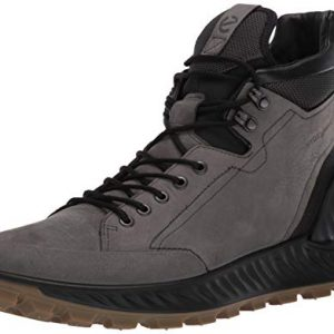 ECCO Men's Exostrike Hydromax Hiking Boot, Dark Shadow Yak Nubuck