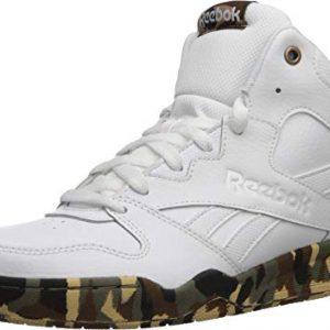 Reebok Men's Royal HI2 Basketball Shoe, White/White/camo
