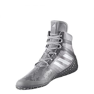 adidas Impact Men's Wrestling Shoes, Grey Camo Print