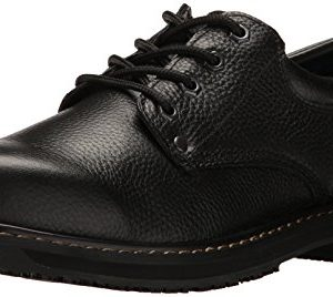 Dr. Scholl's Shoes Men's Harrington II Work Shoe, Black, 9 M US