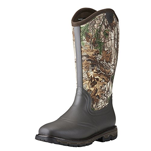 Ariat Men's Conquest Rubber Neoprene Insulated Hunting Boot