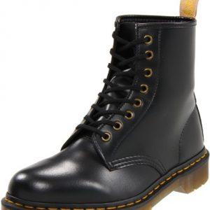 Dr. Martens Vegan Smooth Black Combat Boot