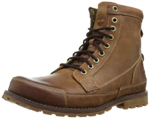 "Timberland Men's Earthkeepers 6"" Lace-Up Boot, Burnished Brown"