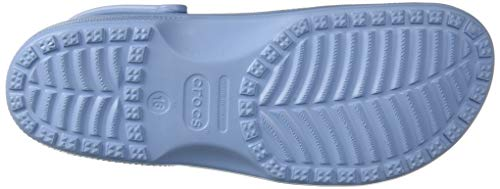 Crocs Classic Clog|Comfortable Slip On Casual Water Shoe, Chambray Blue CROCS FOR EVERYONE: With a colour and magnificence for each persona, the Classic Clogs are the Crocs ladies and men want to begin a consolation revolution around the globe LIGHTWEIGHT AND FUN: The Crocs for women and men characteristic light-weight Iconic Crocs Comfort. Ventilation ports add breathability and assist shed water and particles shortly and the massage-pod footbed provides added consolation. DESIGNED TO FIT: These slip on clogs are simple to tackle and off, whereas being extraordinarily sturdy; These Crocs even supply pivoting heel straps for a safer match WEAR FOR ANY OCCASION: These males's and ladies's Crocs function nice home footwear but additionally splendid for the seaside, pool, health club, bathe, strolling and even gardening CROCS FOR WOMEN AND MEN: The Crocs Classic Clogs aren't solely probably the most comfy footwear for ladies and men but additionally simple to wash simply utilizing cleaning soap and water and permitting for a fast dry Original. Comfortable. Versatile. The iconic clog that began a consolation revolution around the globe! The irreverent, go-to consolation shoe that you just're positive to fall deeper in love with day after day. Crocs Classic Clogs characteristic light-weight Iconic Crocs Comfort™, a colour for each persona, and supply an ongoing invitation to be comfy in your individual footwear.