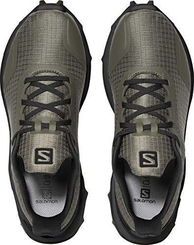 Salomon Men's Alphacross GTX Trail Running Shoes, Castor Gray/Ebony/Black Salomon Men's Alphacross GTX Trail Running Shoes, Castor Gray/Ebony/Black, 11.5.