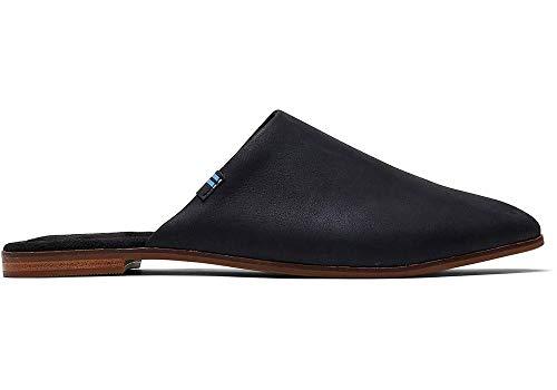 TOMS Women's Jutti Mule Black Leather
