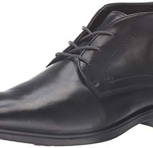 ECCO Men's Melboune Chukka Boot, Black/Magnet