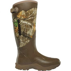 "Lacrosse Men's Alpha Agility 17"" Waterproof Hunting Boot, Realtree Edge"