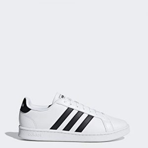 adidas Men's Grand Court, Black/White