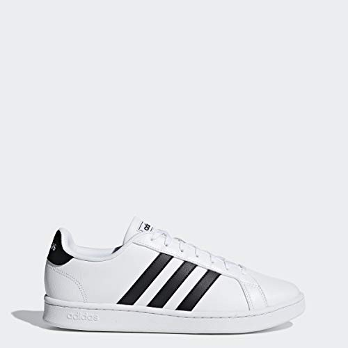 adidas Men's Grand Court, Black/White
