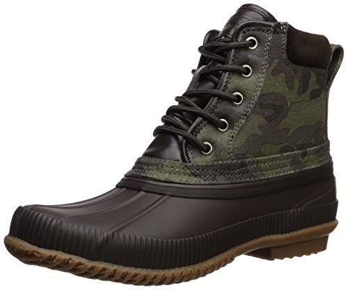 Tommy Hilfiger Men's CASEY2 Rain Boot, Olive