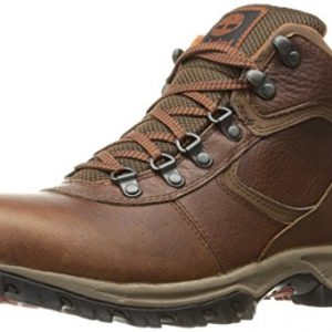 Timberland Men's Mt. Maddsen Mid Leather Wp Ankle Boot, Medium Brown Full