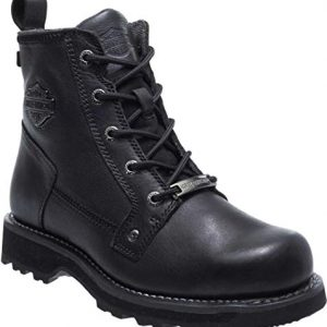 HARLEY-DAVIDSON FOOTWEAR Men's Griggs Fashion Boot, Black, 8.5 M US