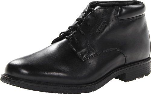 Rockport Men's Essential Details Water Proof Chukka Boot,Black