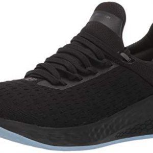 New Balance Men's Lazr V2 Fresh Foam Running Shoe, Black/Magnet