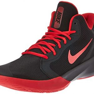 Nike Precision III Basketball Shoe, Black/University Red