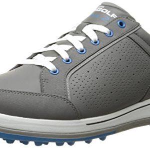 Skechers Performance Men's Go Golf Drive 2 Golf Shoe,Charcoal/Blue