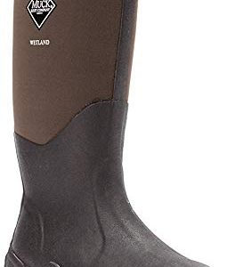 Muck Wetland Rubber Premium Men's Field Boots,Bark,Men's 15 M/Women's