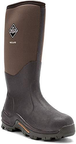 Muck Wetland Rubber Premium Men's Field Boots,Bark,Men's 15 M/Women's