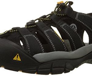 Keen Men's Newport H2 Sandal,Black