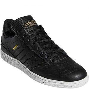 adidas Originals Men's Busenitz Sneaker, Black/Gold Metallic/White