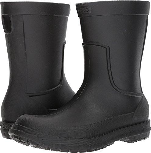 Crocs Men's AllCast M Rain Boot ,Black/Black