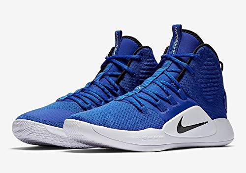 Nike Men's Hyperdunk X Team Basketball Shoe Game Royal/Black/White
