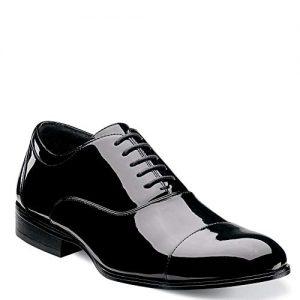 Stacy Adams Men's Gala Tuxedo Oxford, Black Patent