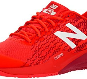 New Balance Men's Hard Court Tennis Shoe, Flame