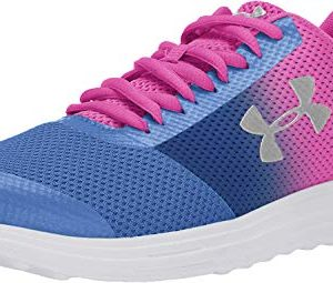 Under Armour Girls' Grade School Surge Prism Sneaker, Tempest