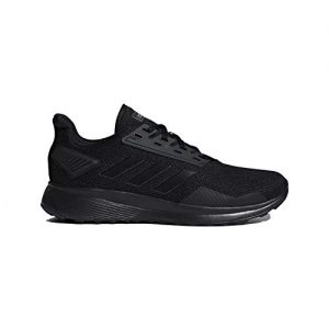 adidas Men's Duramo 9 Running Shoe, Black/Black/Black