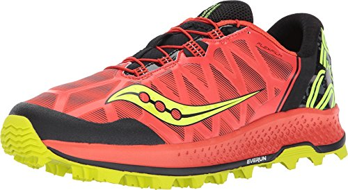 Saucony Men's Koa ST Running Shoe, Orange Citron