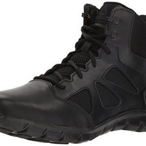Reebok Men's Sublite Cushion Tactical Military & Tactical Boot, Black