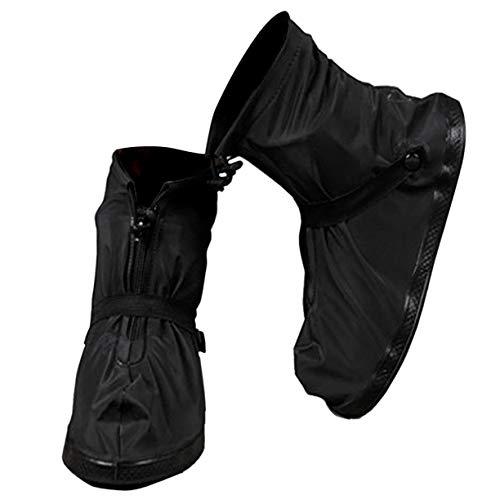 VXAR Rain Shoe Cover Waterproof Overshoe Black XL