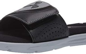 Under Armour Men's Ignite VI SL Slide Sandal, Black