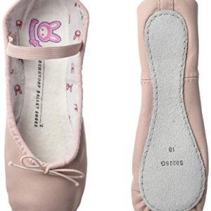 Bloch Girl's Dance Bunnyhop Full Sole Leather Ballet Slipper/Shoe