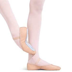Capezio Youth Daisy Ballet Slippers, Pink