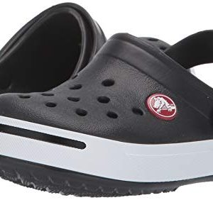 Crocs Kids Crocband II (Toddler/Little Kid) Black/White