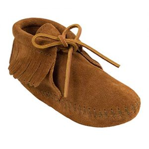 Minnetonka Classic Fringe Softsole Boot (Toddler/Little Kid/Big Kid)