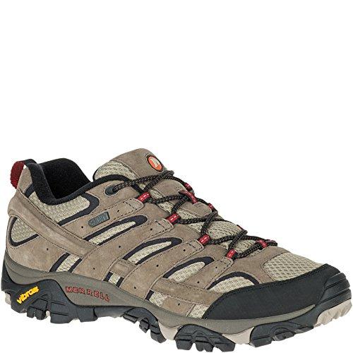 Merrell Men's Moab 2 Waterproof Hiking Shoe, Bark Brown, 10.5 2E US