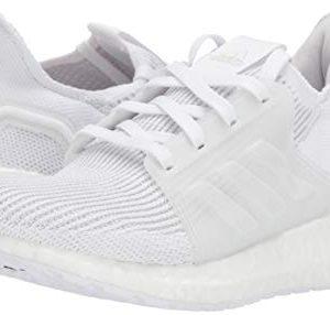adidas Unisex-Kid's Ultraboost 19 Running Shoe, White/White/Grey
