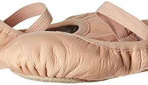 Bloch Girls Dance Belle Full-Sole Leather Ballet Shoe/Slipper, Pink