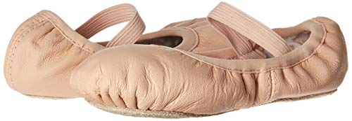 Bloch Girls Dance Belle Full-Sole Leather Ballet Shoe/Slipper, Pink