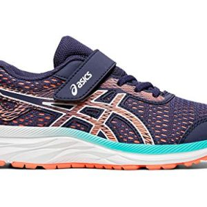 ASICS Kid's Gel-Excite 6 PS Running Shoes,Purple Matte/Sun Coral