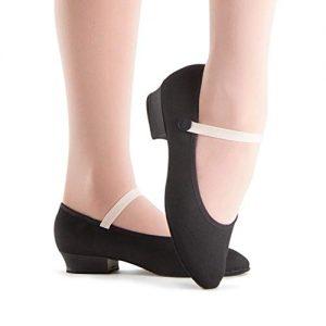 Bloch Girls' Accent Dance Shoe, Black