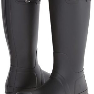 HUNTER Original Tall Rain Boots Black 8