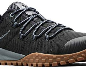Columbia Men's Fairbanks Low Shoe, Breathable, High-Traction Grip Black