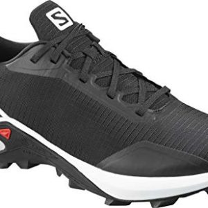 Salomon Men's ALPHACROSS Trail Running Shoe, Black/White/Monument
